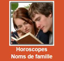 Horoscopes Noms de famille