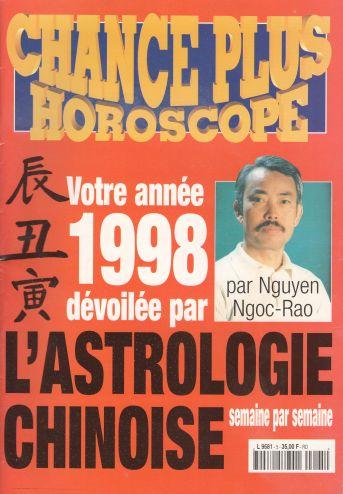 ouvrages de nguyen ngoc rao chance plus horoscope 1998 soci t fran aise de revues. Black Bedroom Furniture Sets. Home Design Ideas