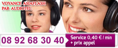 Voyance AsiaFlash par Audiotel